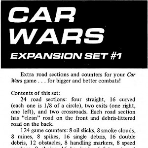 Car Wars Expansion Set 1 cover
