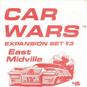 Car Wars Expansion 3 Cover
