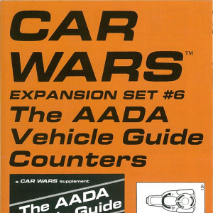 Car Wars Expansion 6 Cover