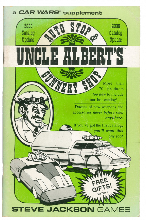 Uncle Albert's 2036 Catalog Update cover