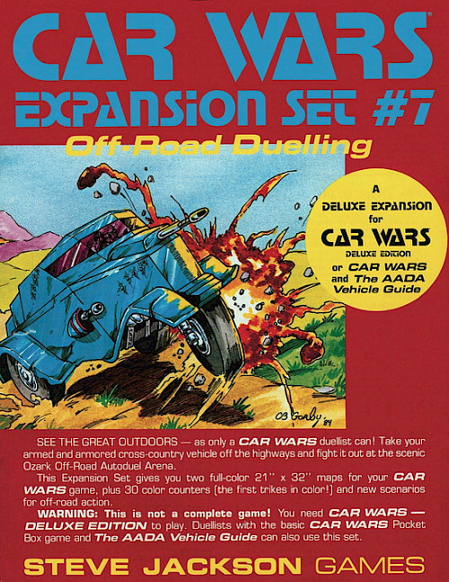 Car Wars Expansion Set #7 – Off-Road Duelling cover